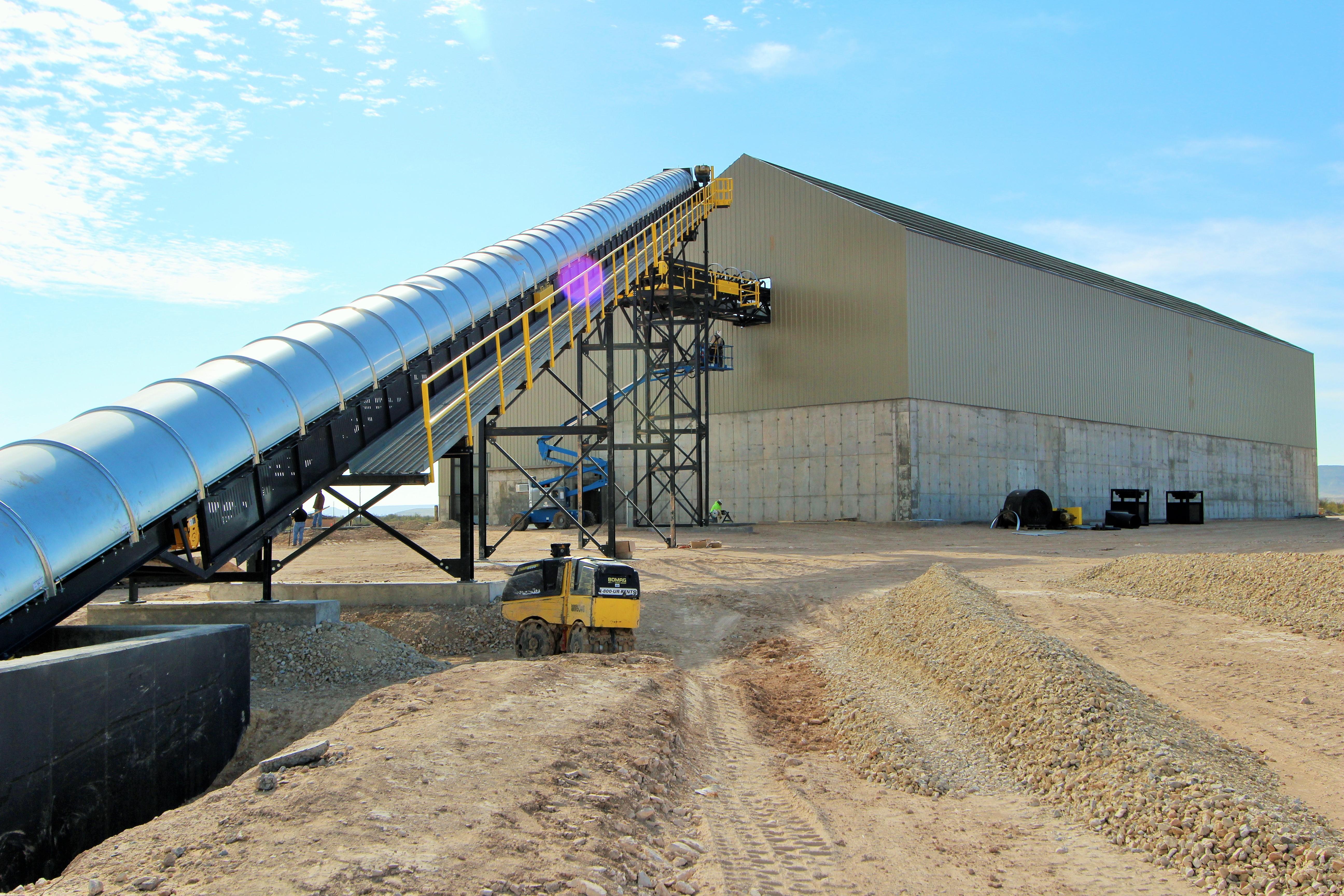Fort Stockton facility completes 10000-ton storage expansion | Titan Lansing Transloading Permian frac sand transloading and storage & Fort Stockton facility completes 10000-ton storage expansion ...