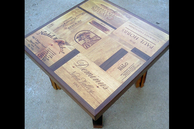 Alpine Wine Design - Lakewood, CO | Custom Wine Crate End ...
