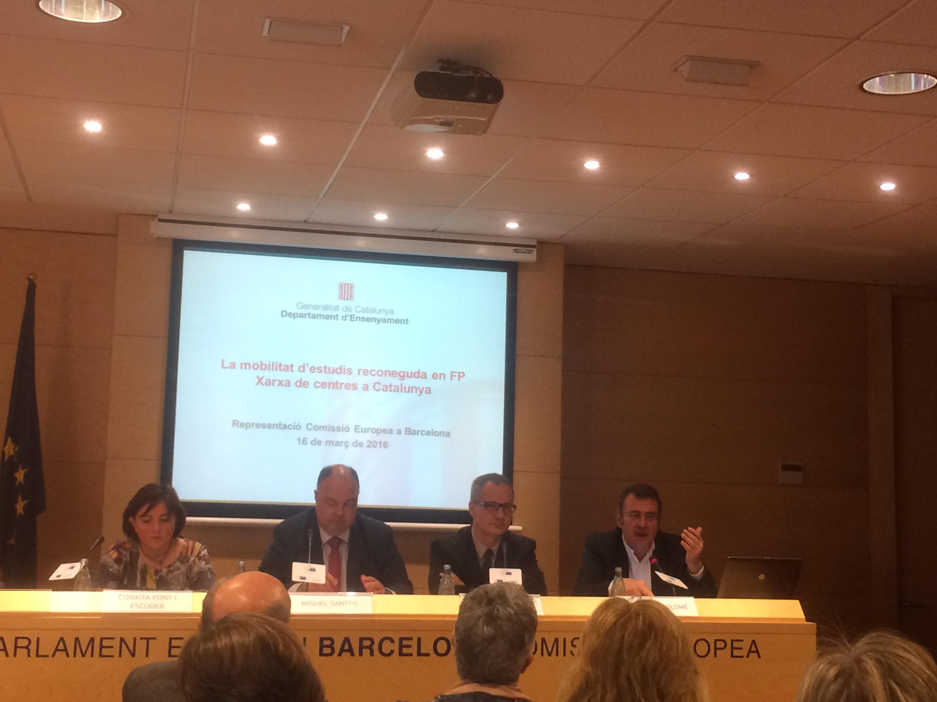 El Govern catal? es mobilitza per la internacionalitzaci? de la FP