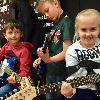 The Rock Project Junior sessions