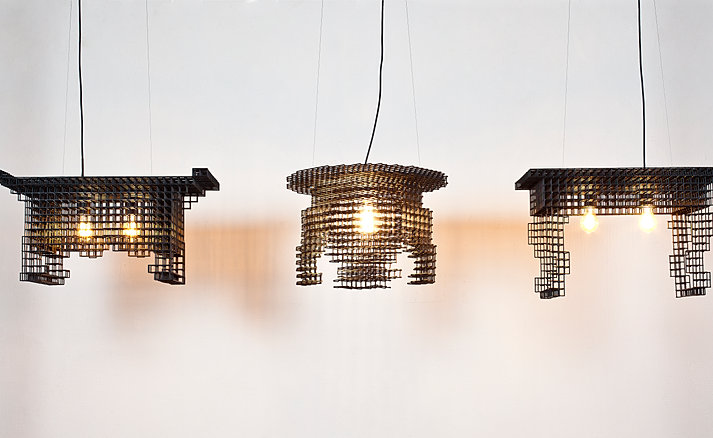 Afterimage_Light fixture (경상소반서안조명)