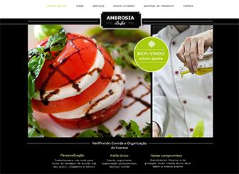 Buffet Template - Apresente seu buffet e seus serviços culinários com este fantástico template HTML. Perfeito para exibir os seus deliciosos pratos. Basta adicionar o seu próprio texto e fique online hoje!