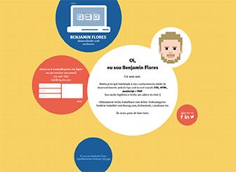 Desenvolvedor - Uma página Template - Envolva os seus clientes com este único template tecnológico. Clique para adicionar o seu próprio conteúdo e coloque o seu negócio online hoje!