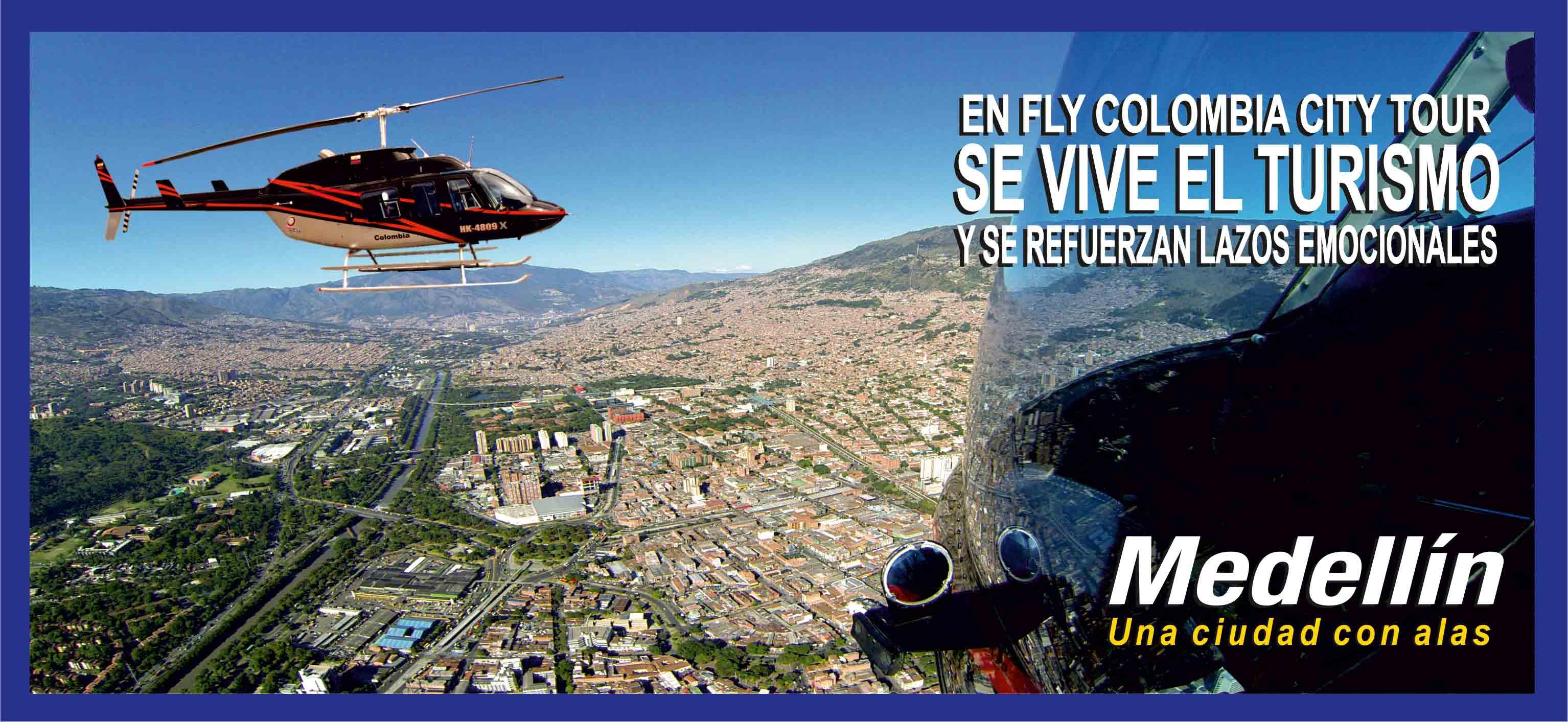 Flycolombia Paseos En Helicoptero