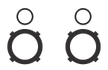 Icon of speakers for podcast recording