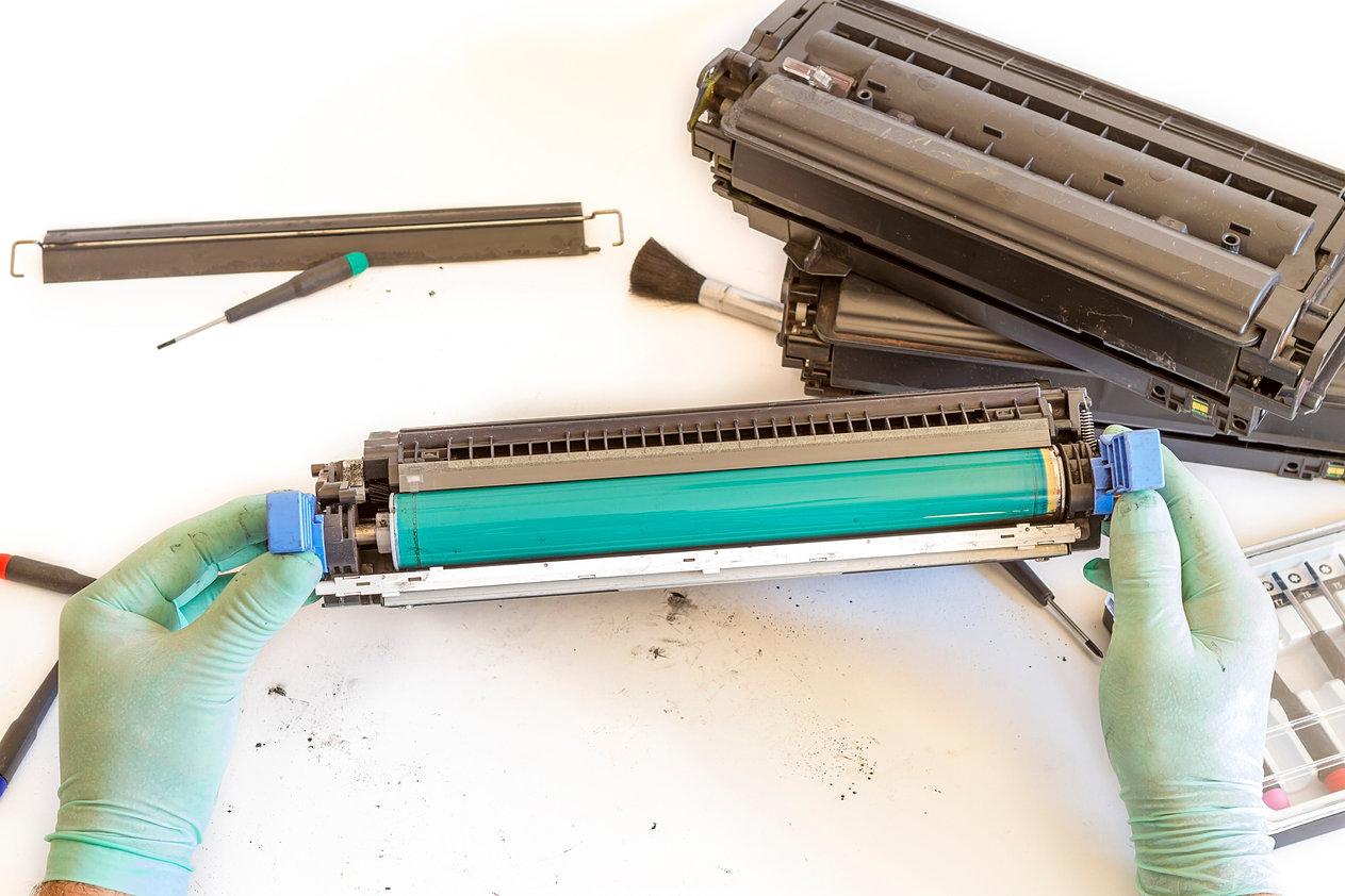 Ремонт картриджа лазерного принтера своими руками