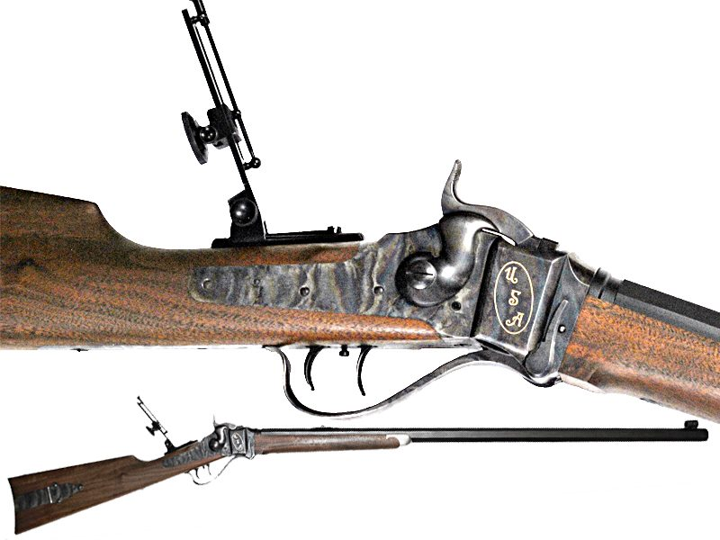 Fowler Gun Room and The Stockade | Shiloh Quigley 45-110 Shiloh