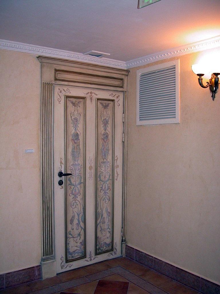 Межкомнатные двери покраска своими руками
