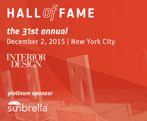 In One Month The 31st Annual Interior Design Hall Of Fame Awards Gala Will Be Held At Waldorf Astoria New York City To Celebrate 2015 Inductees