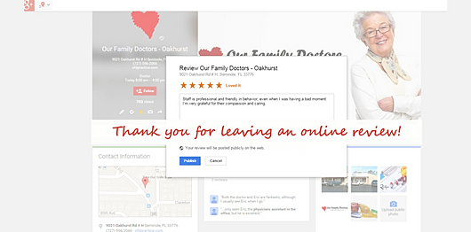 how to leave a google review anonymously