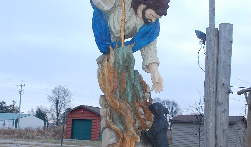 Gallery of chainsaw carvings and sculptures