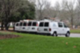 Halcomb Plumbing vans