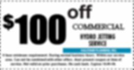 2019 100 OFF Commercial jetting coupon e