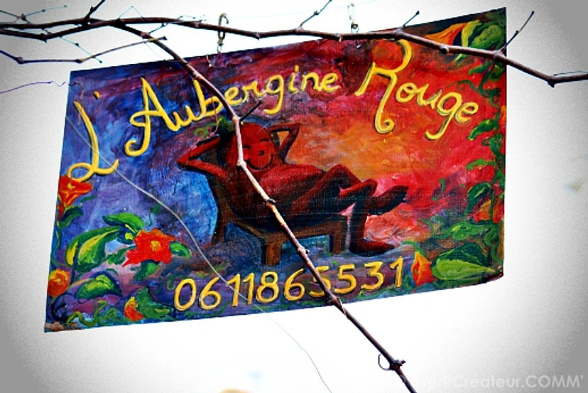 L\'Aubergine Rouge B&B Arles, France, Welcome!