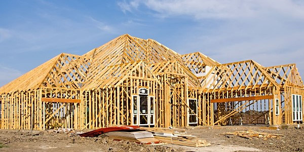 residential wood structure framing