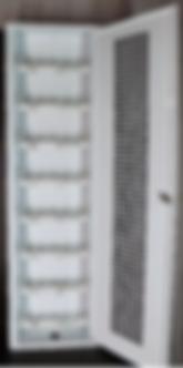 Caixa Hidrometro EHE 8 Modulos