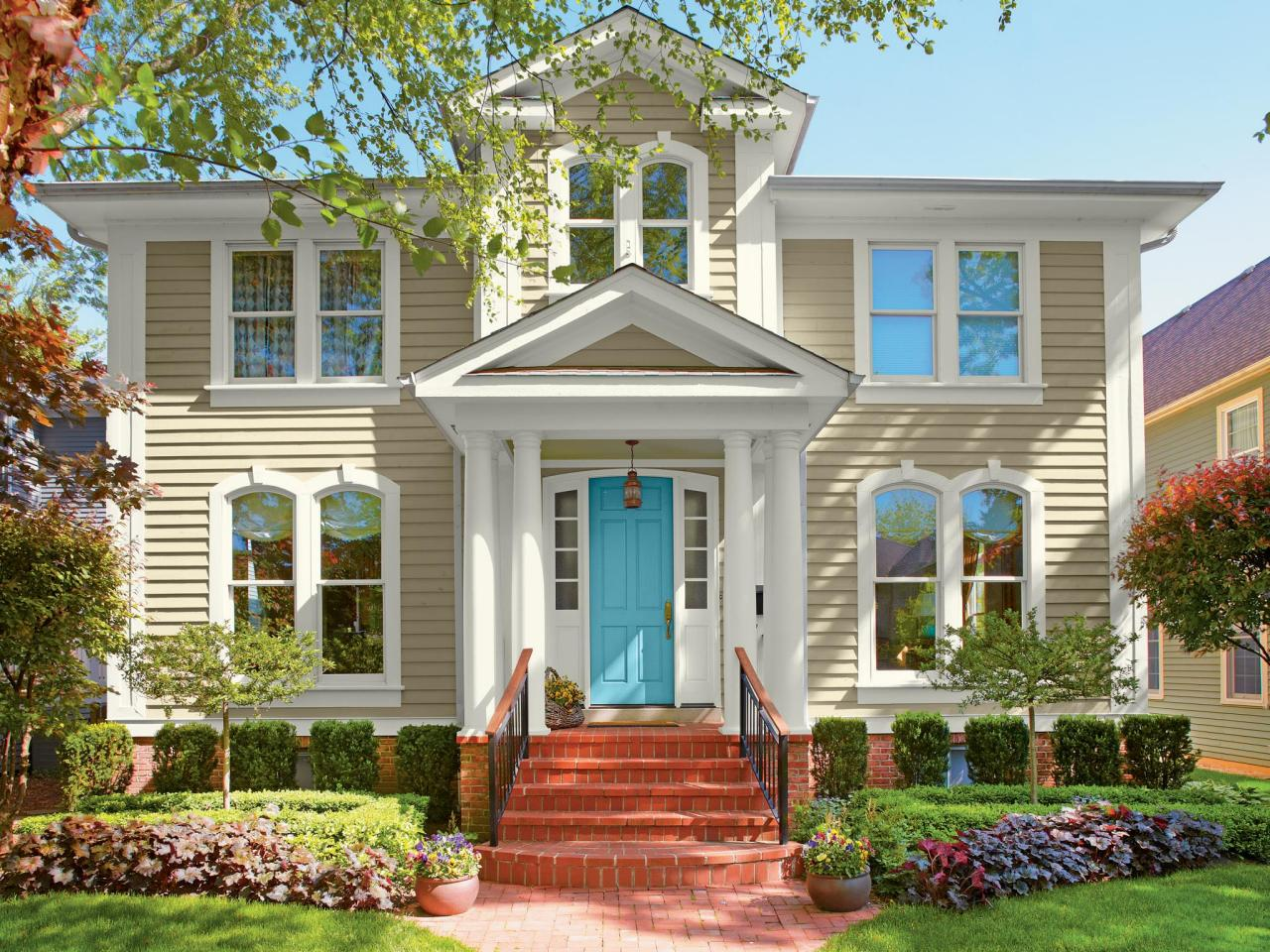 Exterior house colors yellow - Exterior House Colors Yellow 50