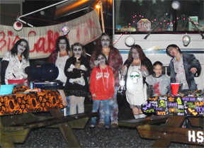 Holly Shores Zombie Halloween Camping
