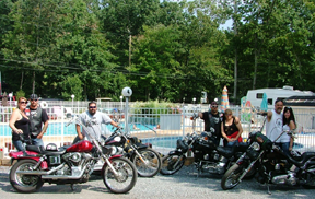 Wildwood Roar to the Shore Biker's Weekend at Holly Shores Campground