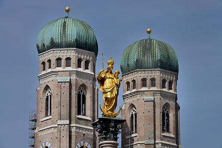 München Frauenkirche Mariensäule