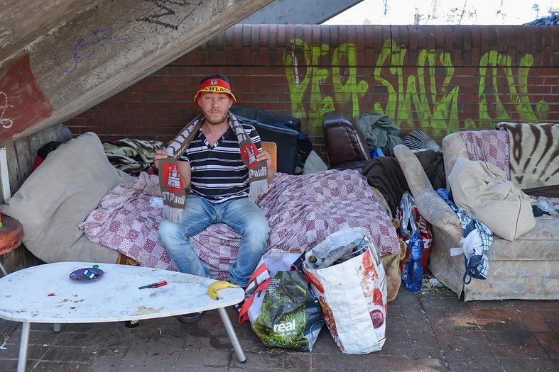 Reeperbahn Obdachlosigkeit