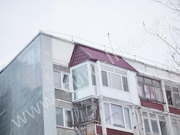 Крыша на балконе последнего этажа зеленоград.