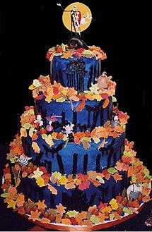 Nightmare before christmas theme wedding ideas nightmare sally cake junglespirit Choice Image