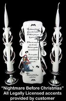Nightmare Before Christmas Theme Wedding Ideas