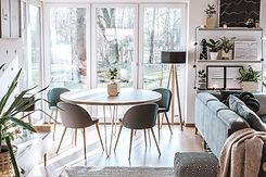 Interior de sala de estar