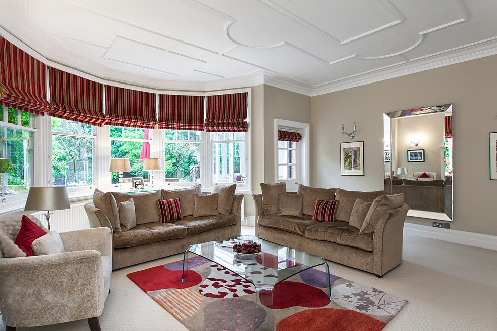 Charlotte heather interiors for Commercial interior design london