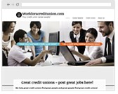 work for a creditunion