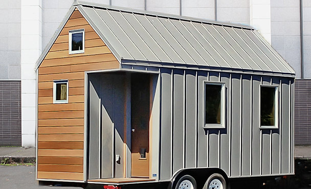The miter box for Energy efficient tiny homes