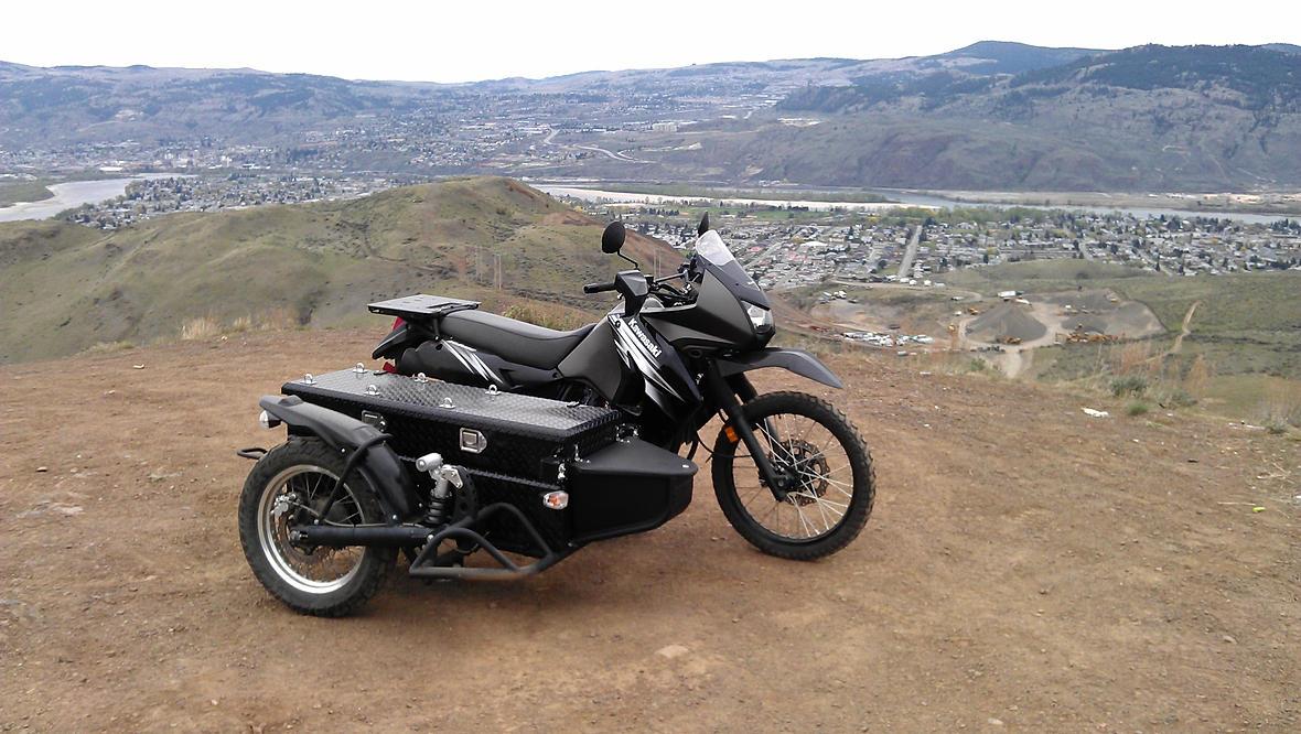 650 Thumper Enduro - KLR, or DR? | Adventure Rider
