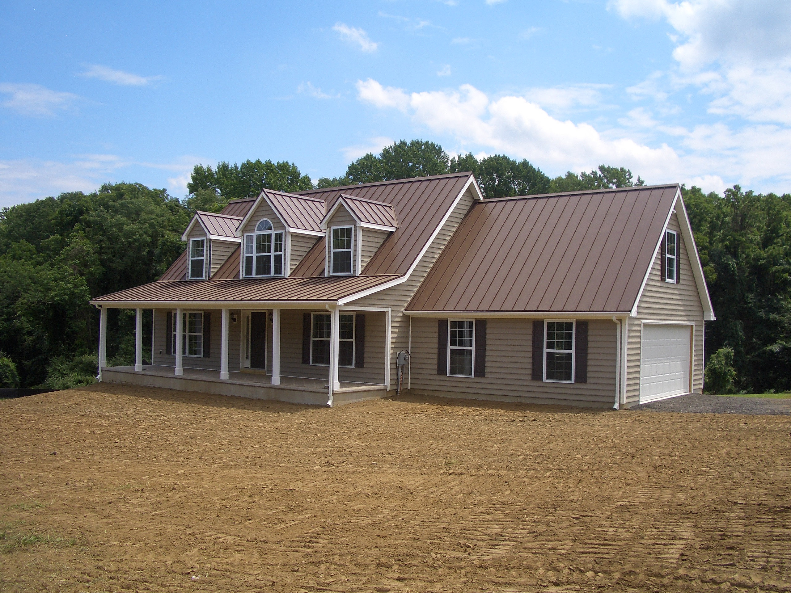 Ecodesigncenter certified green in chadds ford pa for House plans with tin roofs