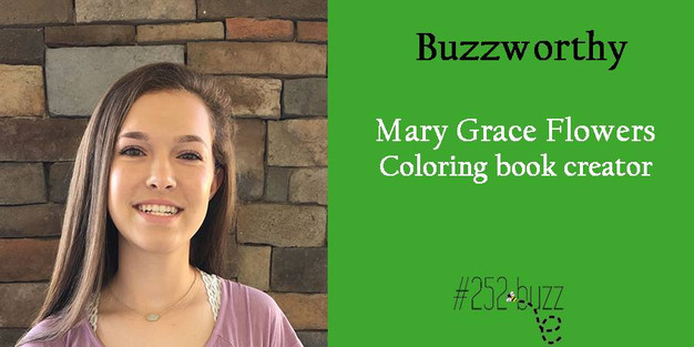 mary grace flowers buzzworthy coloring book creator - Coloring Book Creator