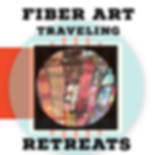 Fiber Art Travel Retreat Logo