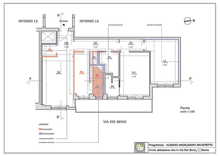 Consulenza architetto progetto appartamento progetti for Consulenza architetto