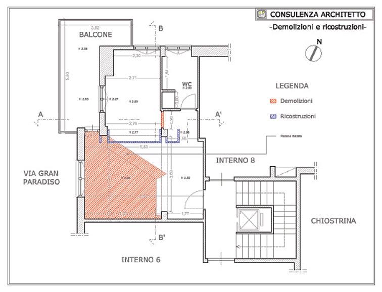 Consulenza architetto progetto appartamento roma for Consulenza architetto