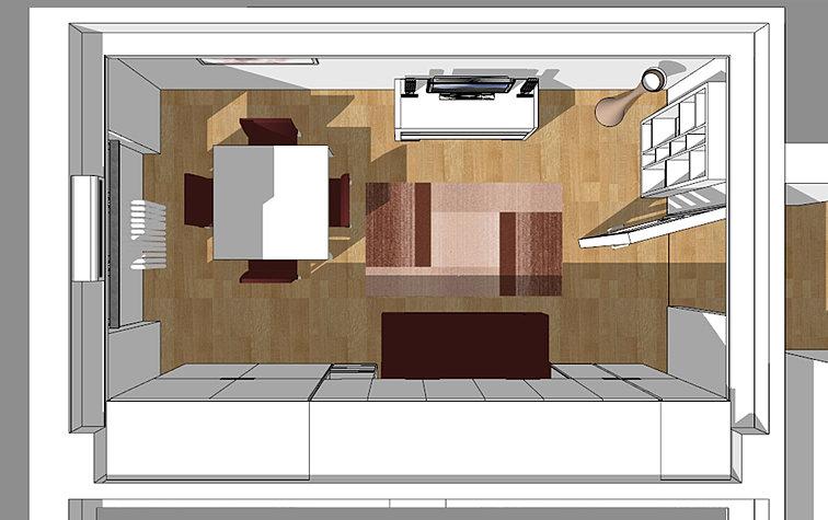 Consulenza architetto progetto stanza platinum for Consulenza architetto