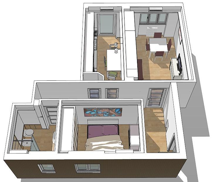Architetto roma architetto on line consulenza for Arredi sketchup