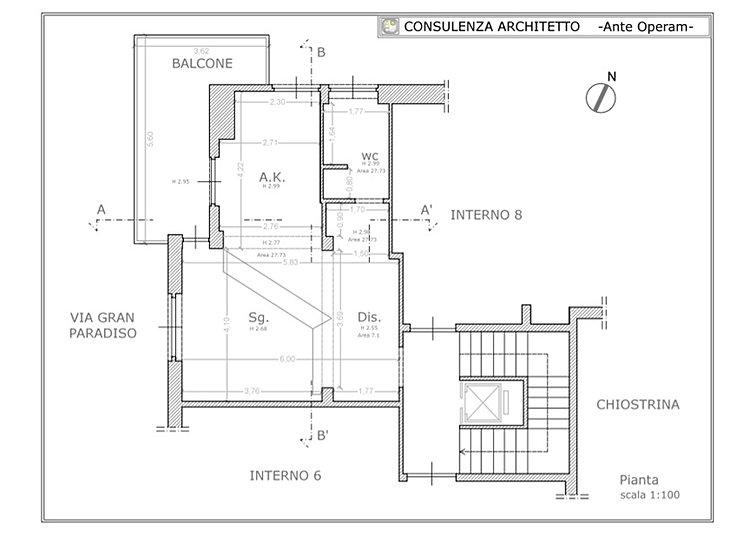 Consulenza architetto progetto appartamento roma for Consulenza architetto gratuita
