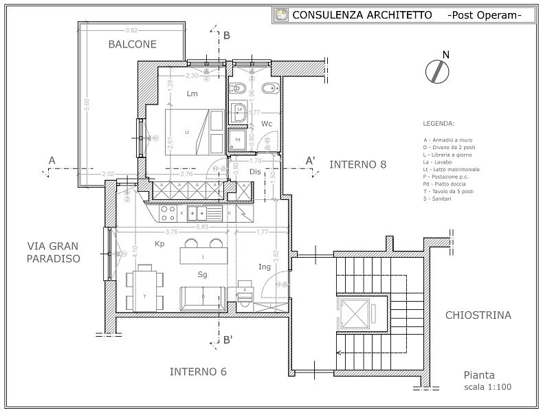 Consulenza architetto architetto on line progetto on for Consulenza architetto