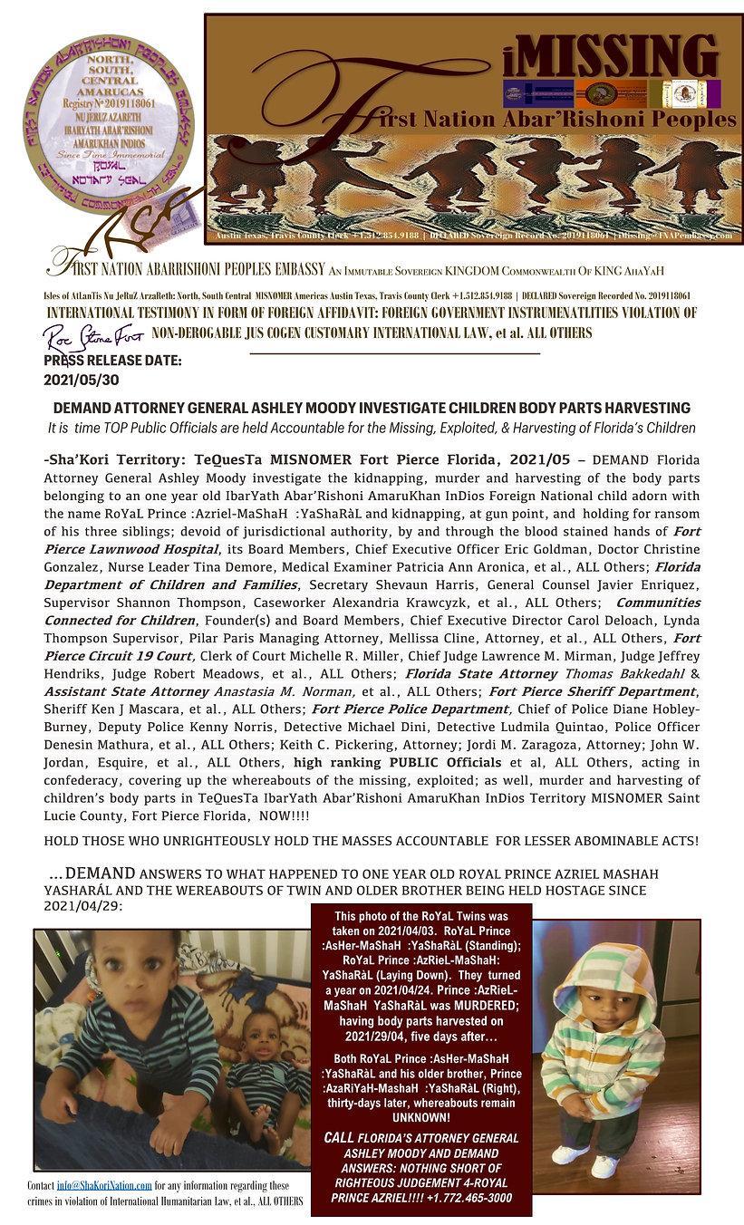 FNAPembassy_iMISSING_MaShaH Children RoY