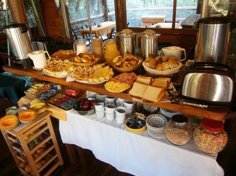 Cabañas Desayuno