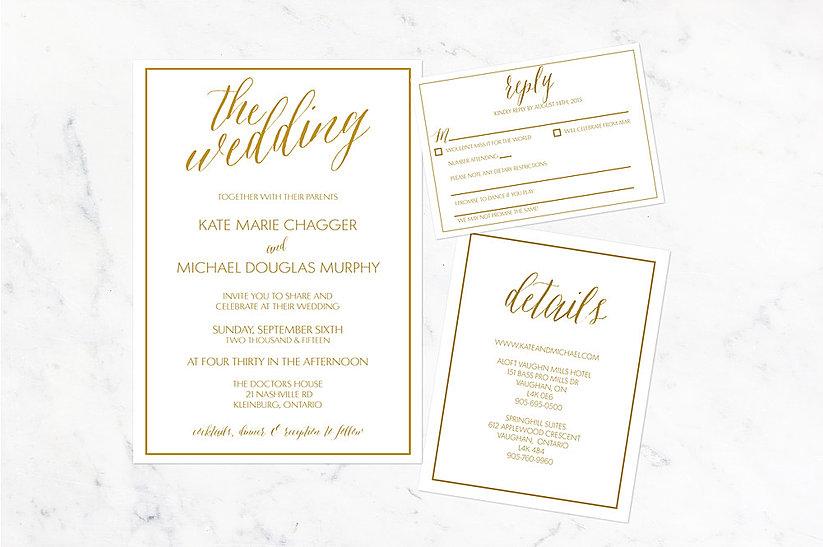 Wedding Invitations Invitiations Mississauga