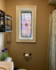 Bathroom Window Victorian Privacy