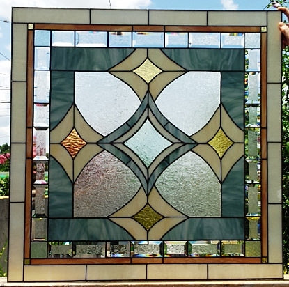 terraza stained glass perfect privacy bathroom window w54