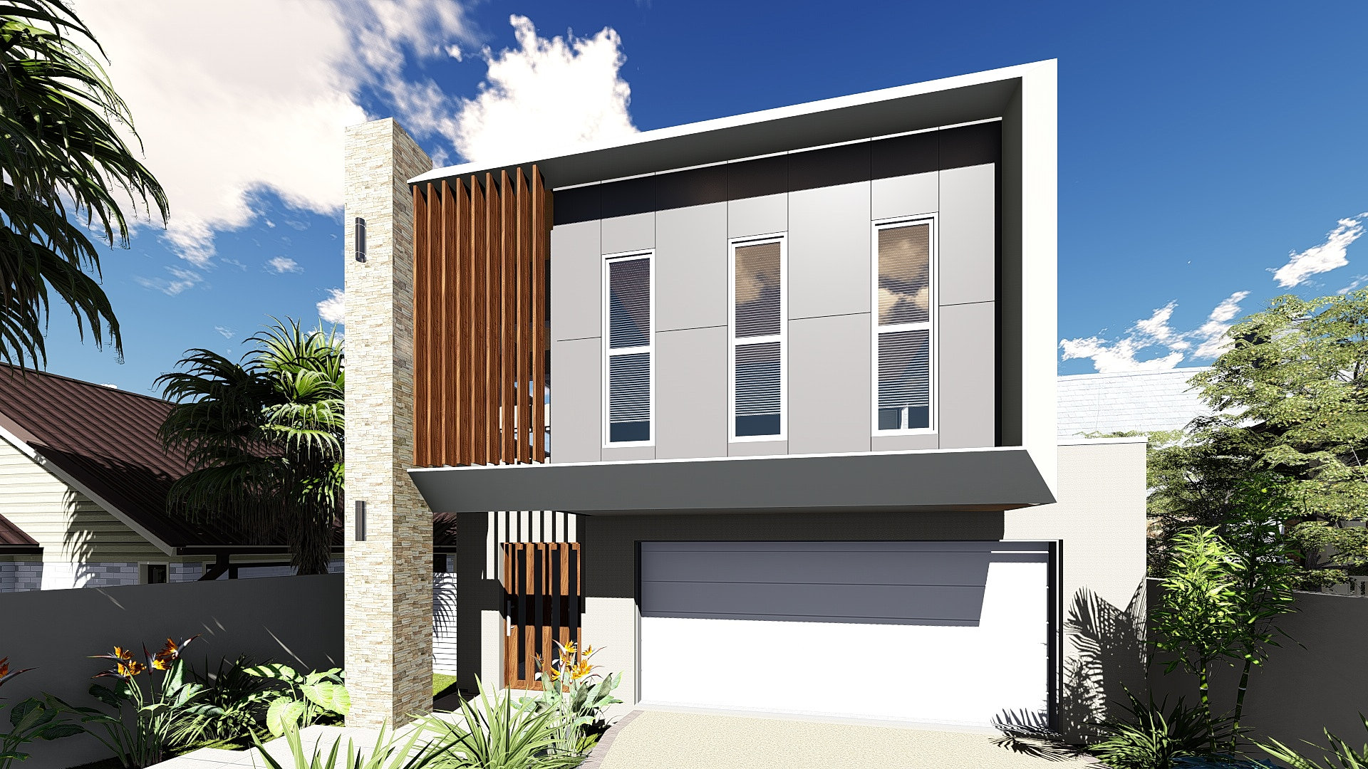 Brisbane house plans small lots home design and style for Home designs brisbane