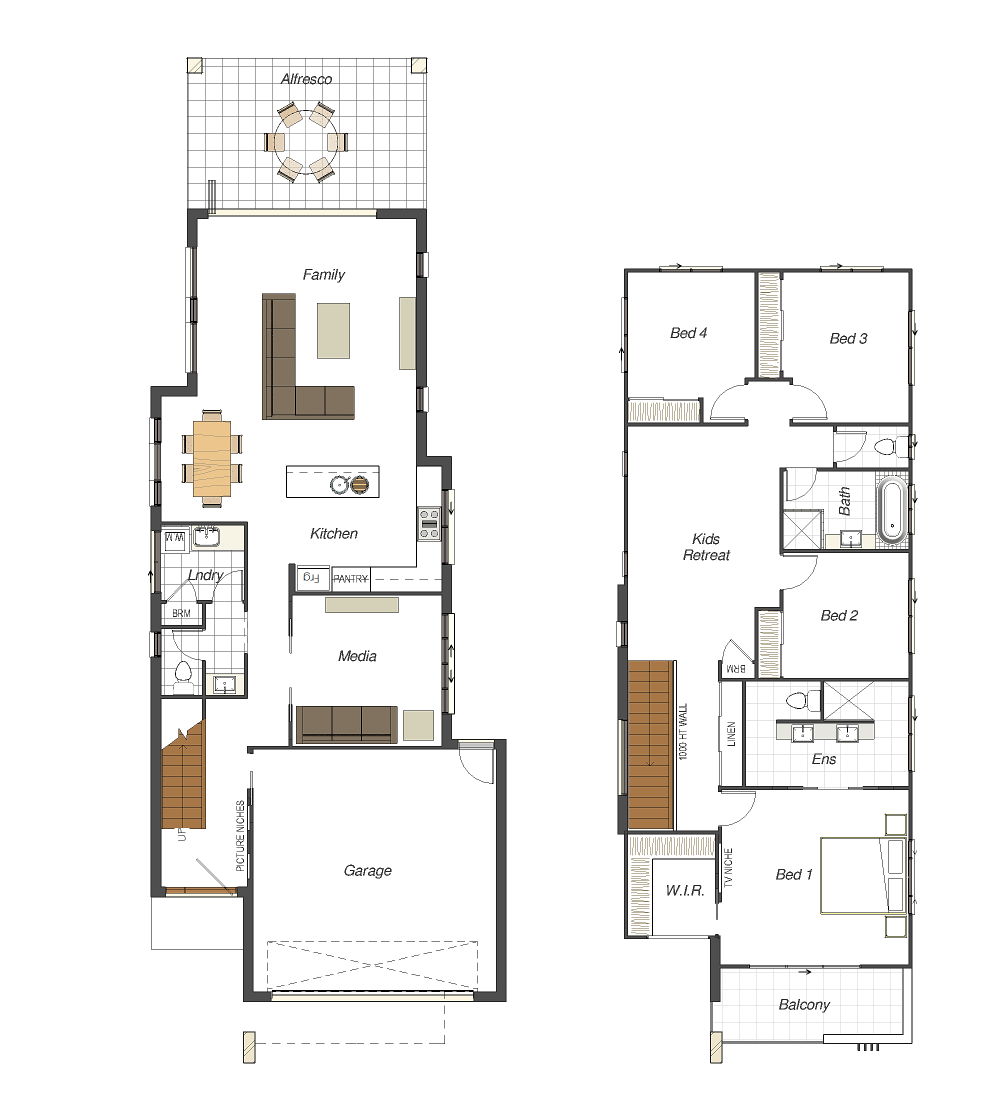 Blueprint Designs Architects And Drafting Services House