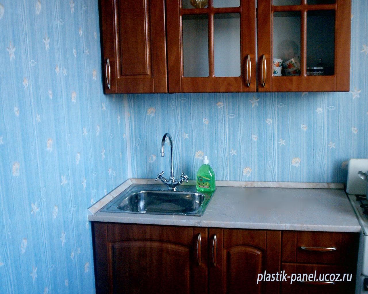Отделка кухни панелями фото